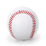 Baseball ball. Isolated on white background Royalty Free Stock Photo