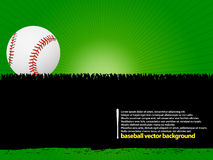 Baseball ball background Stock Images