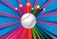 Baseball Ball Background Stock Image