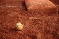 Baseball Ball Base Stock Image