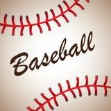 Baseball ball. Big baseball ball background vector illustration Royalty Free Stock Photo