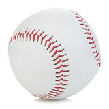 Baseball ball close-up on a white background. Baseball ball close-up on a white background Stock Photography