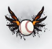 Baseball Ball Design Element. Drawing Stock Photos