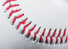 Baseball Ball Detail Stock Photo