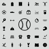 baseball ball icon. Sport icons universal set for web and mobile stock illustration
