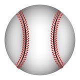 Baseball ball isolated icon over white background Stock Photo