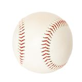 Baseball ball isolated on white Stock Image
