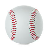 Baseball ball isolated on white Royalty Free Stock Photo