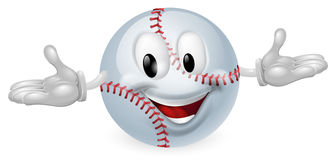 Baseball Ball Man Stock Photo