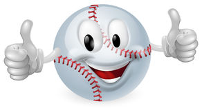 Baseball Ball Mascot Royalty Free Stock Photo