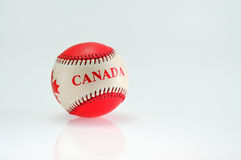 Baseball ball with motive Royalty Free Stock Photo