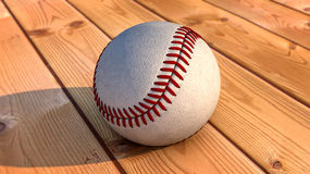 Baseball and ball Royalty Free Stock Images