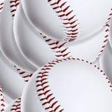 Baseball ball (Seamless texture) Stock Image