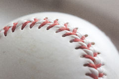Baseball ball at the white background Stock Images