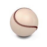 Baseball ball. On white background. 3d illustration Stock Photography