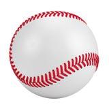 Baseball ball  on white background. 3d rendering Stock Images