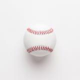 Baseball ball on white background Stock Image