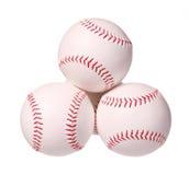 Baseball. Balls isolated on white Stock Image
