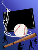 Baseball banner Royalty Free Stock Images