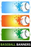 Baseball banners Royalty Free Stock Photo