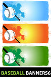 Baseball banners_6. Baseball banners abstract vector background Stock Photo