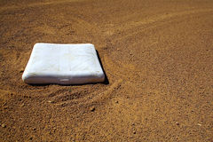 Baseball base Royalty Free Stock Photography