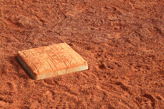 Baseball Base Sand Field Royalty Free Stock Photos