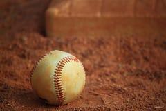 Baseball Base Sand Ground Royalty Free Stock Images