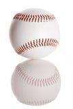 Baseball: Baseball med reflexion Arkivbild
