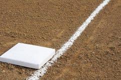 Baseball basso Fotografie Stock