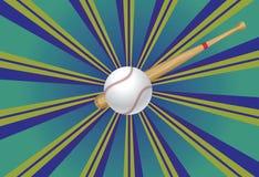 Baseball Bat and Ball Royalty Free Stock Photos