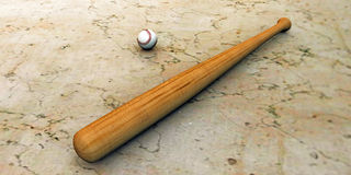 Baseball bat Royalty Free Stock Images