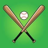 Baseball Bat. A vector illustration of a baseball bat Stock Images
