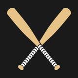 Baseball Bat. A vector illustration of a baseball bat Stock Photos