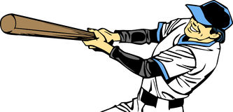 Baseball Batter Royalty Free Stock Image