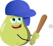 Baseball batter pear Stock Photography