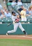 Baseball batter swing Royalty Free Stock Photos