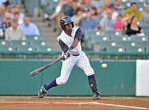 Baseball batter swing Royalty Free Stock Photo