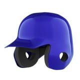 Baseball batting helmet Stock Photo