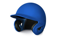 Baseball batting helmet Royalty Free Stock Image