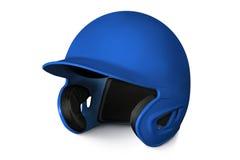 Baseball batting helmet Royalty Free Stock Image