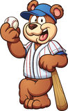 Baseball bear Stock Image