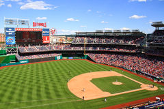 Baseball - Beautiful Summer Day Nationals Park Stock Photography