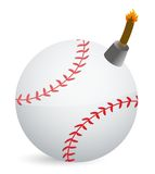 Baseball Bomb Stock Photos