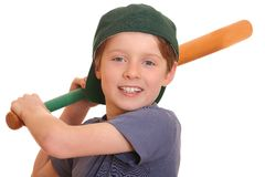 Baseball boy Royalty Free Stock Photos