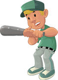 Baseball boy Royalty Free Stock Photo