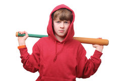 Baseball boy Stock Photography