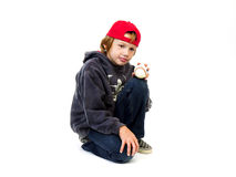 Baseball and Boy Stock Photography