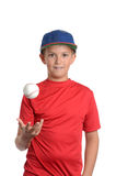 Baseball Boy Stock Photo