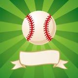 Baseball on a bright background Stock Photo